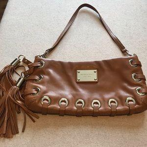 Michael Kors camel leather purse